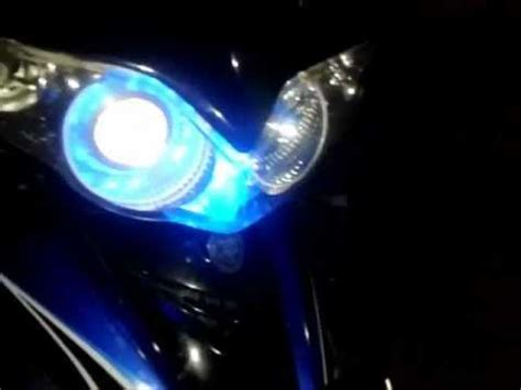 Lu Led Motor Jupiter Mx Led Projector Di Motor Jupiter Z Burhan