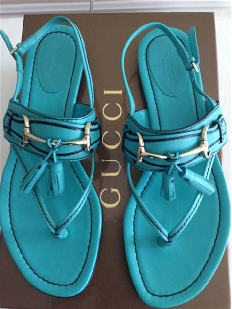 Gucci Gloria Heels Sandal 9320 7 pin by gloria on clothes shoes etc flats i and turquoise