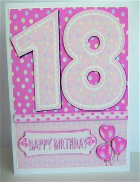 quick printable birthday cards 18th birthday girl quick card cup227831 38 craftsuprint