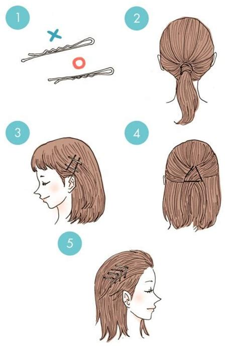 3 everyday hairstyles in 3 minutes quick hairstyle in 3 minutes wonderful diy16