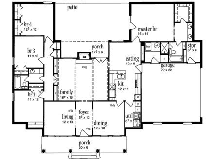 center hall colonial open floor plan vintage colonial floor plans colonial floor plans