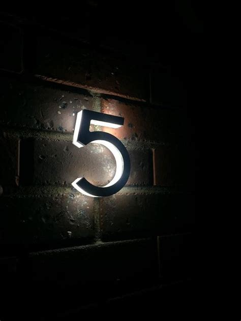 led house numbers 17 best ideas about house numbers on pinterest address