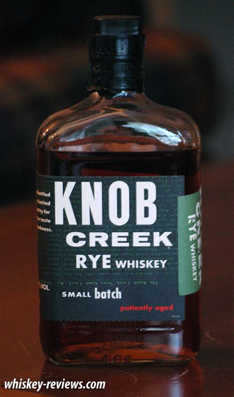 Knob Creek Reviews by Knob Creek Rye Review Whiskey Reviews
