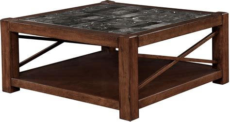 brown square coffee table rani brown cherry square coffee table from furniture of
