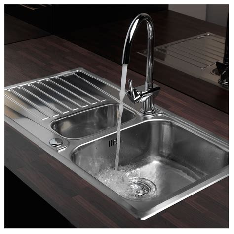 Kitchen Sink 1 5 Bowl Reginox Centurio 1 5 Bowl Inset Kitchen Sink Sinks Taps