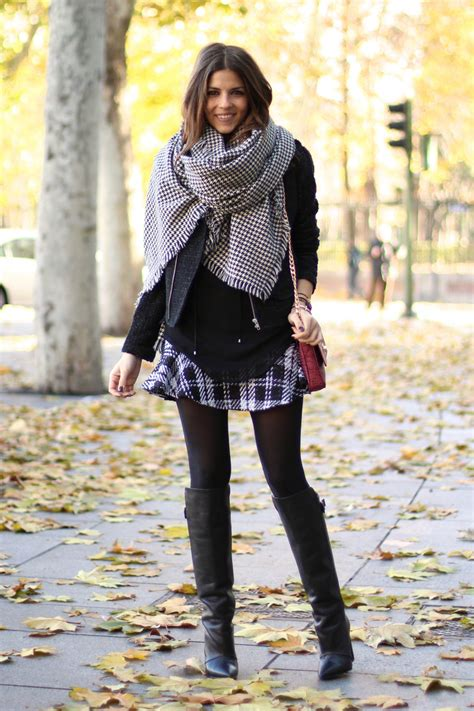 Nera Tunik how to wear the houndstooth print fashionsy