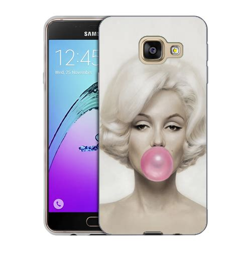 Softcase Silicon Tpu Samsung Galaxy A9 husa samsung galaxy a9 2016 silicon gel tpu model marilyn