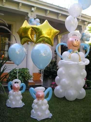 decoracion con collage para bautizo mil artes mujer decoraci 211 n con globos para bautizo baby
