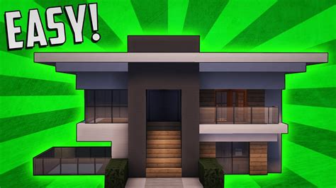 how to build a small modern house minecraft how to build a small modern house tutorial 8
