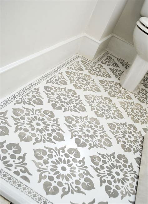 pattern tile stencils floor stencilled with the kota and neemrana stencils