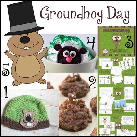 groundhog day decorations groundhog day ideas to do with projects