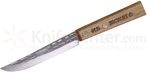 ontario hickory paring knife 4 quot blade hickory handles