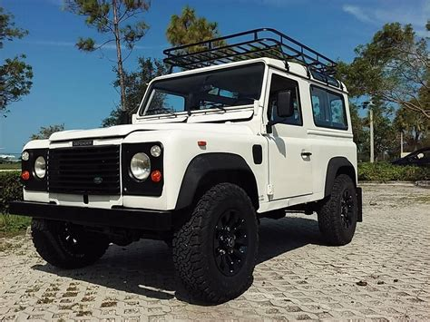 land rover for sale 1991 land rover defender 90 for sale 2014794 hemmings
