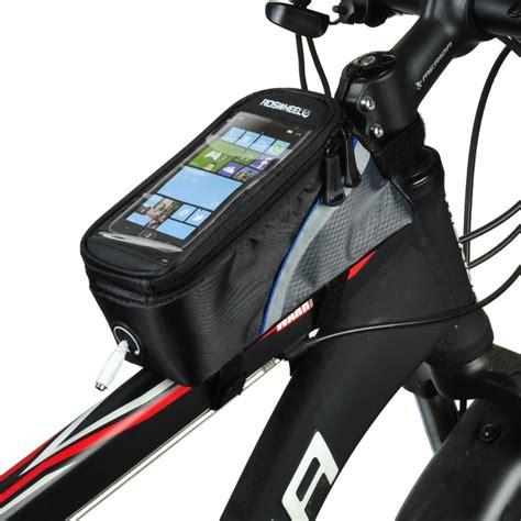 Special Roswheel Bike Waterproof Bag 4 8 Inch Smartphone Tas Hp Sepeda on sale roswheel top bag for 4 2 quot smartphone