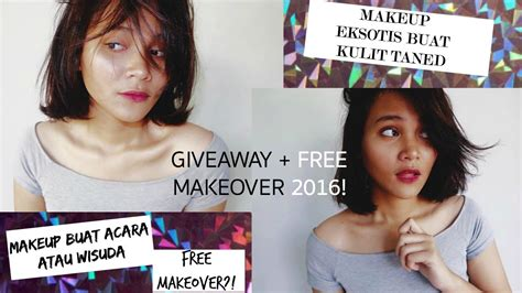 Makeup Makeover Indonesia free makeover giveaway 2016 tutorial makeup ala remaja bahasa indonesia dinda shafay