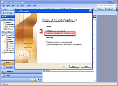 microsoft office outlook setup for existing vanity domain