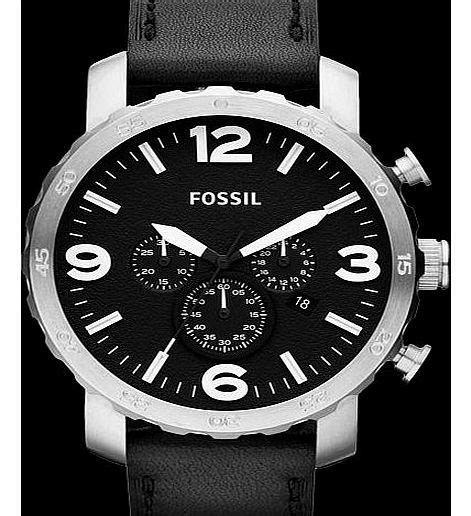 Fossil Original Jr 1436 Leather Stainless Steel fossil mens jr1436 review compare prices buy
