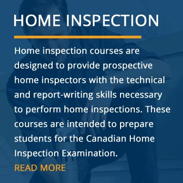 home inspection course home inspector