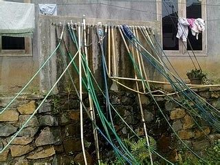 Kran Air Injak dunia rumah membersihkan selang air