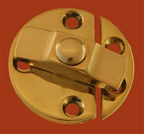 Cabinet Turn Button Catch by Solid Brass Turn Button Latch Bm 1616pb Cupboard Turn