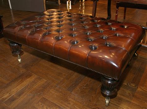 Ottoman Coffee Table Leather Leather Ottoman Coffee Table Modern Rs Floral Design New Creation Furniture Leather Ottoman