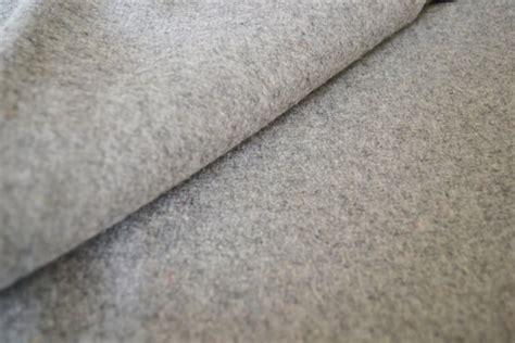 wool fabric light grey felt fabric by the yard wool felt by the yard