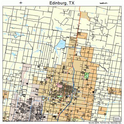 map of edinburg texas edinburg texas map 4822660