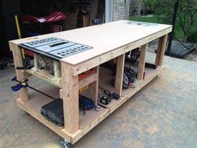 garage workbench designs 17 best ideas about workbench plans on pinterest work