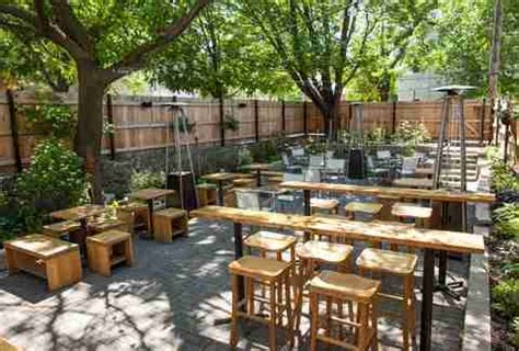 Patio Motel Chicago by Chicago S Best Outdoor Restaurants Rooftop Bars And