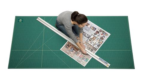 Large Cutting Mats by Alvin 4x8 Self Healing Large Cutting Mat With Grid