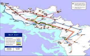 Seattle Light Rail Map Pdf by Puget Sound Transit System Rta Map