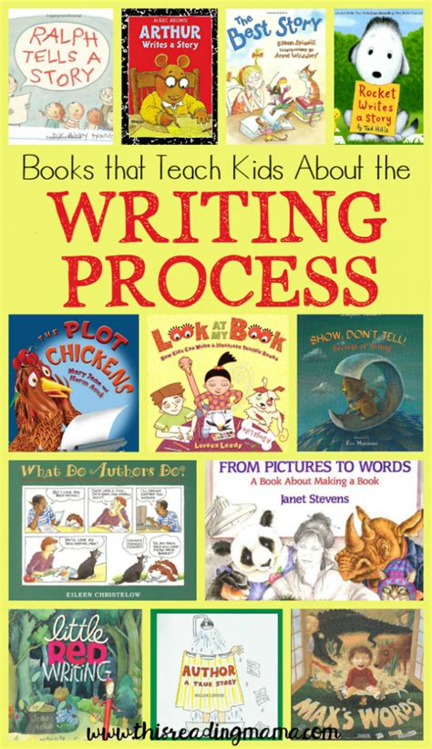 writing a children s picture book books that teach about the writing process