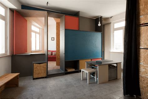 house office design 40 m2 studio designed and equipped to be a home office for an architect