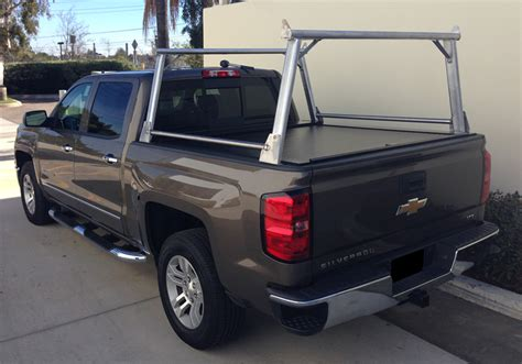 Ladder Racks For Trucks With Tonneau Cover by Truck Covers Usa American Truck Rack