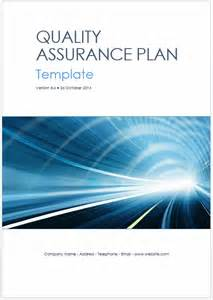 Quality Assurance Program Template by New 39 Page Quality Assurance Plan Template In Ms Word