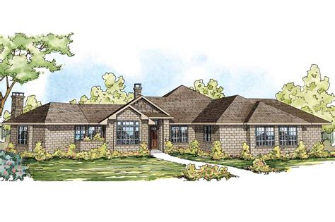 ranch home plans ranch house plans hillcrest 10 557 associated designs