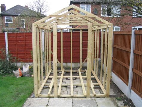 simple shed plans  clumsybrl