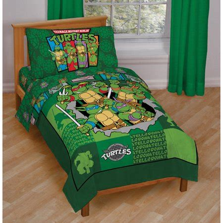 Tmnt Bedding by Mutant Turtles Bedding Totally