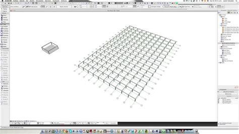 tutorial revit estructural archicad 16 tutorial 5 columna viga y sistema de red youtube