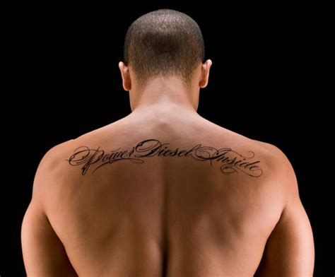 7 best places for male tattoos tattoo lettering design