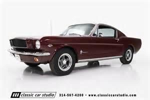 65 Black Mustang 1965 Ford Mustang Base Fastback 2 Door Ebay