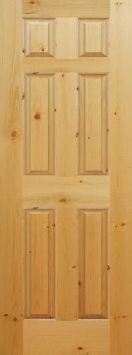 6 Panel Knotty Pine Interior Doors Mastercraft 174 28 Quot X 80 Quot Ready To Finish Knotty Pine Raised 6 Panel Interior Door Only