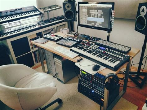 tiny house music studio home recording studio tumblr interior pinterest