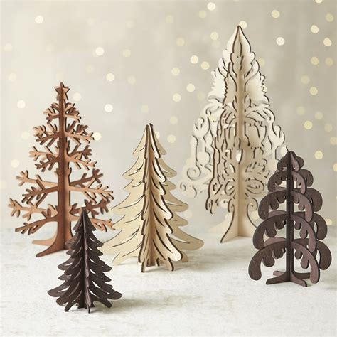 decorate for the holidays with these festive laser cut ideas