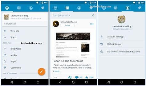 android themes blog 5 best blogging apps for android