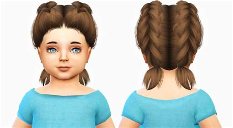 sims 4 hairs kalewa a toddlers hair pack the 107 best images about toddler sims 4 cc on pinterest