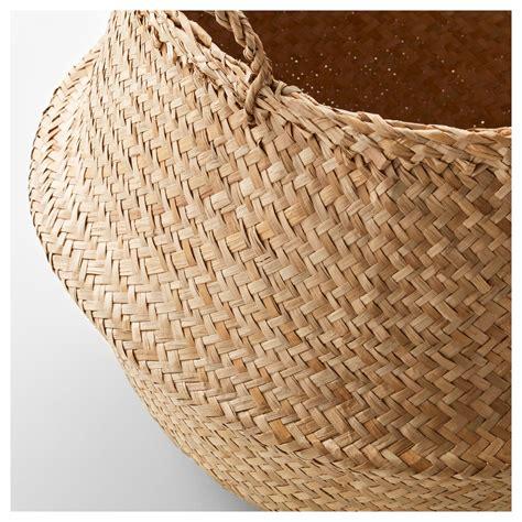 ikea baskets fl 197 dis basket seagrass 25 cm ikea