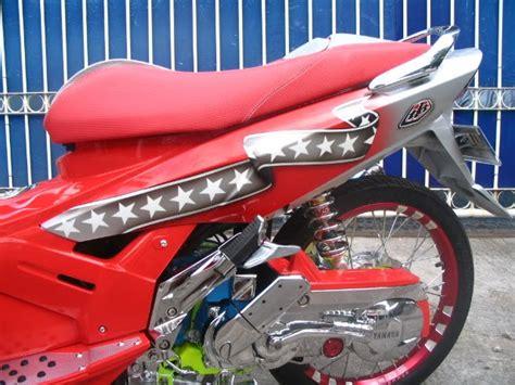 Tameng Depan Nouvo Z Original 1 modifikasi yamaha nouvo gaya ganteng pisan oto trendz