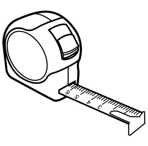measuring tape coloring page coloring book