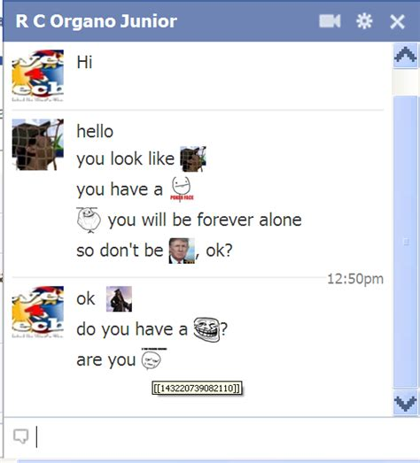 fb chat facebook emoticons on facebook chat